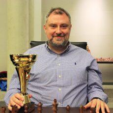 Wyniki turnieju błyskawicznego 2016.