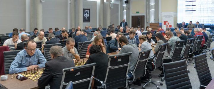 Wyniki turnieju szachów błyskawicznych 2018